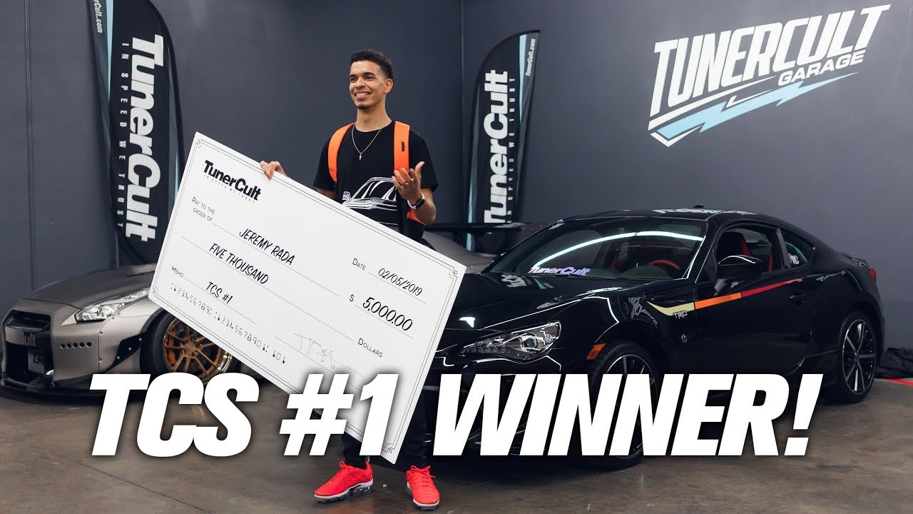 Congrats Jeremy Rada The 2019 GT 86 Tuner Cult Sweepstakes Winner!