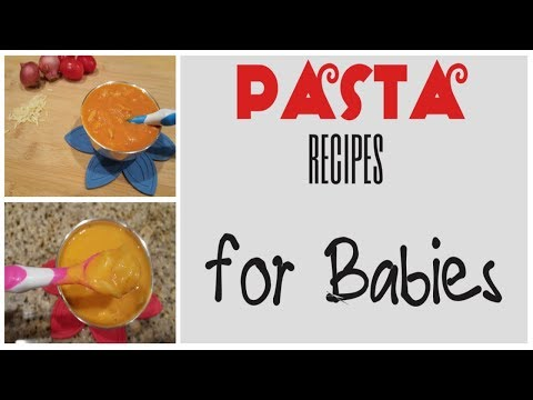 Pasta Recipes For Baby 8 Months +|Easy And Healthy Lunch/dinner Baby Food Ideas