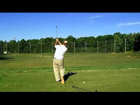 Don't dance on your back swing, vertical golf swing