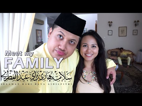 MEET MY FAMILY!! (Raya Aidilfitri)
