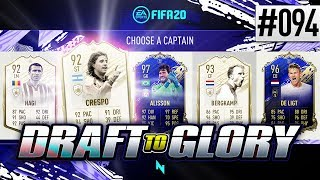 7 ICON DRAFT WITH INSANE FINAL COMEBACK! - FIFA20 - ULTIMATE TEAM DRAFT TO GLORY #94
