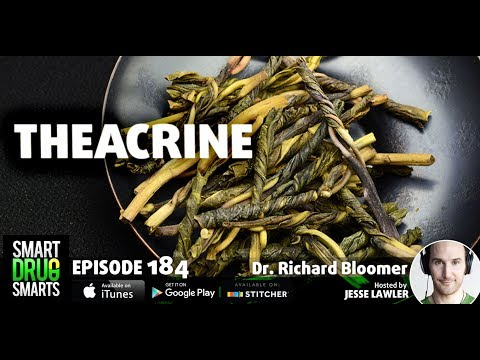 Episode 184 - Theacrine with Dr. Richard Bloomer