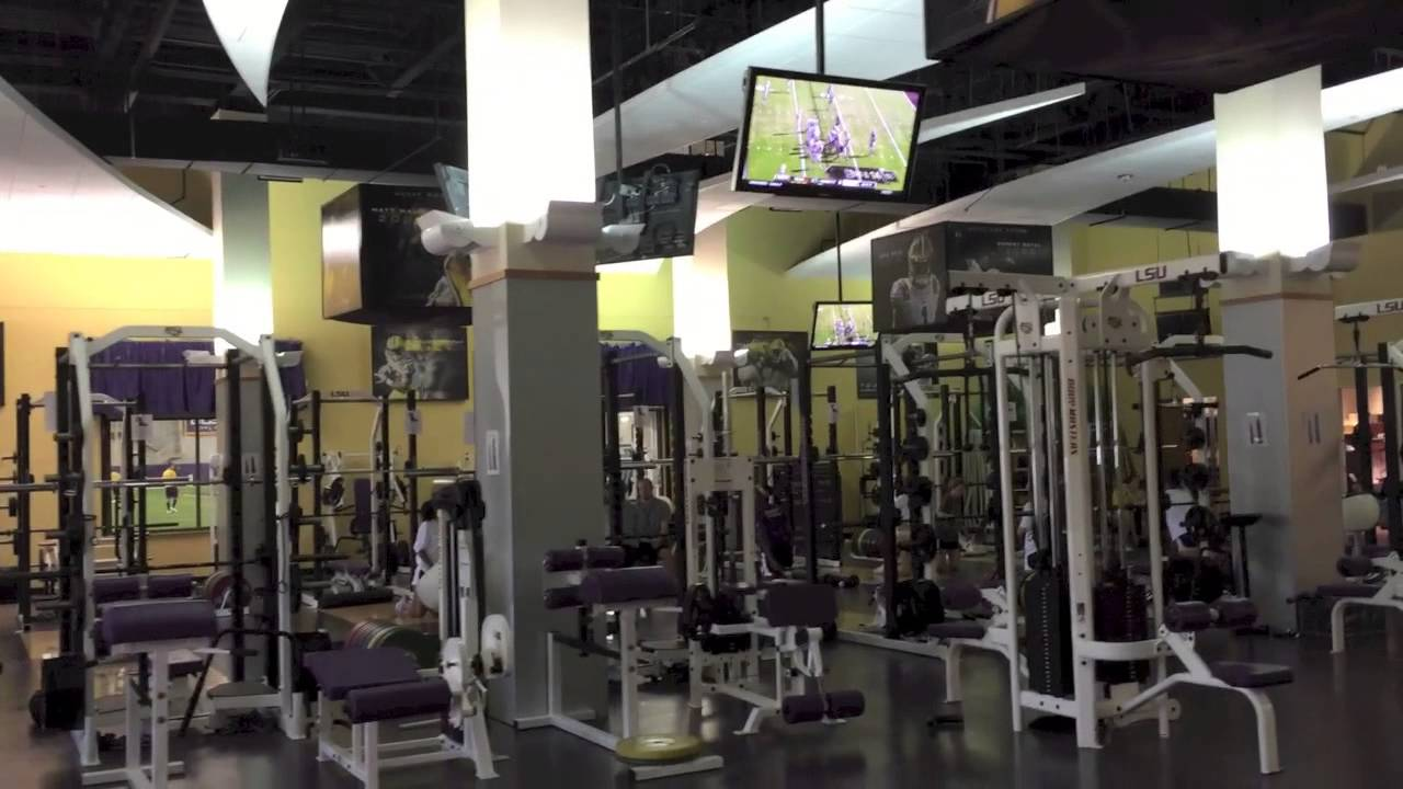Lsu Football Operations Building Tour Youtube