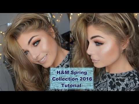 H&M Beauty | Chit Chat One Brand Makeup Tutorial | + New Spring Collection 2016