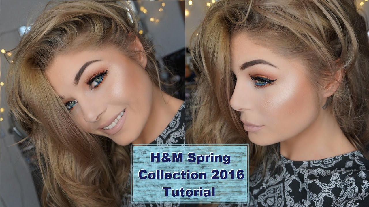h m beauty chit chat one brand makeup tutorial new spring