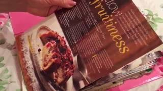 ASMR flipping through recipes ~ paper sounds ~ plastic sleeves ~ NO TALKING
