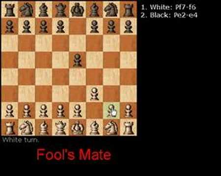 Relevant Now: Fools Mate, The two move checkmate |Chess Fools Mate
