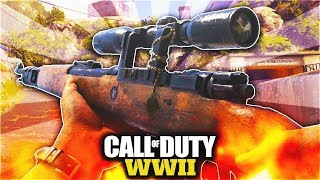 NEW CALL OF DUTY  WWII LIVESTREAM COOL NEW GUN