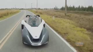 Nissan BladeGlider Protype EV Debuts in Rio