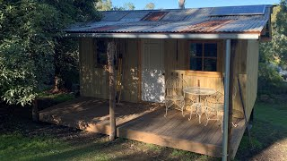Australian Country Cabin / Shack Build - Start to Finish - Urban Garden Build