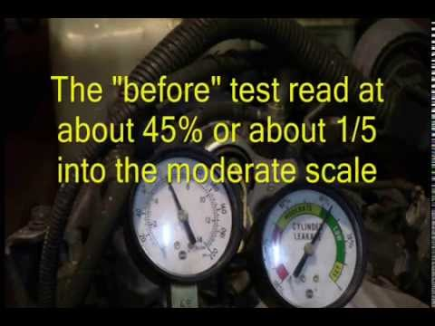 Liquid Head Gasket Repair Block Sealer Scientific Testing Youtube