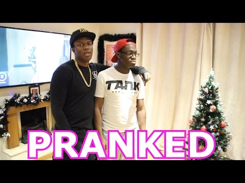 PRANKED BY PARENTS