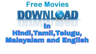 1 website all language movie download Hindi, tamil,Telugu,malayalam,punjabi