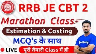 9:00 AM - RRB JE 2019 (CBT-2) | Estimation & Costing by Sandeep Sir (Marathon Class)