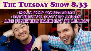 Tuesday 8.33.0: New MK11 Variations, Esports Vs. FGC Yet Again, Are FGs Hardest?, Etc. (2019-10-01)