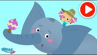 Привет, малыш! Про слона 🐘 Новая серия! Мультик и песенка ⚡⚡⚡