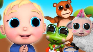 Hush Little Baby and More Nursery Rhymes | Lullaby | Baby Joy Joy on Clap Clap Baby
