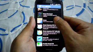 BEST ANDROID LIVE WALLPAPERS ON SAMSUNG GALAXY S3 GT I9300 REVIEW 3