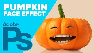 How to Create a Pumpkin Face in Photoshop