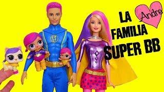 La familia LOL Super BB rescata a Jack Jack | Muñecas y juguetes con Andre para niñas y niños