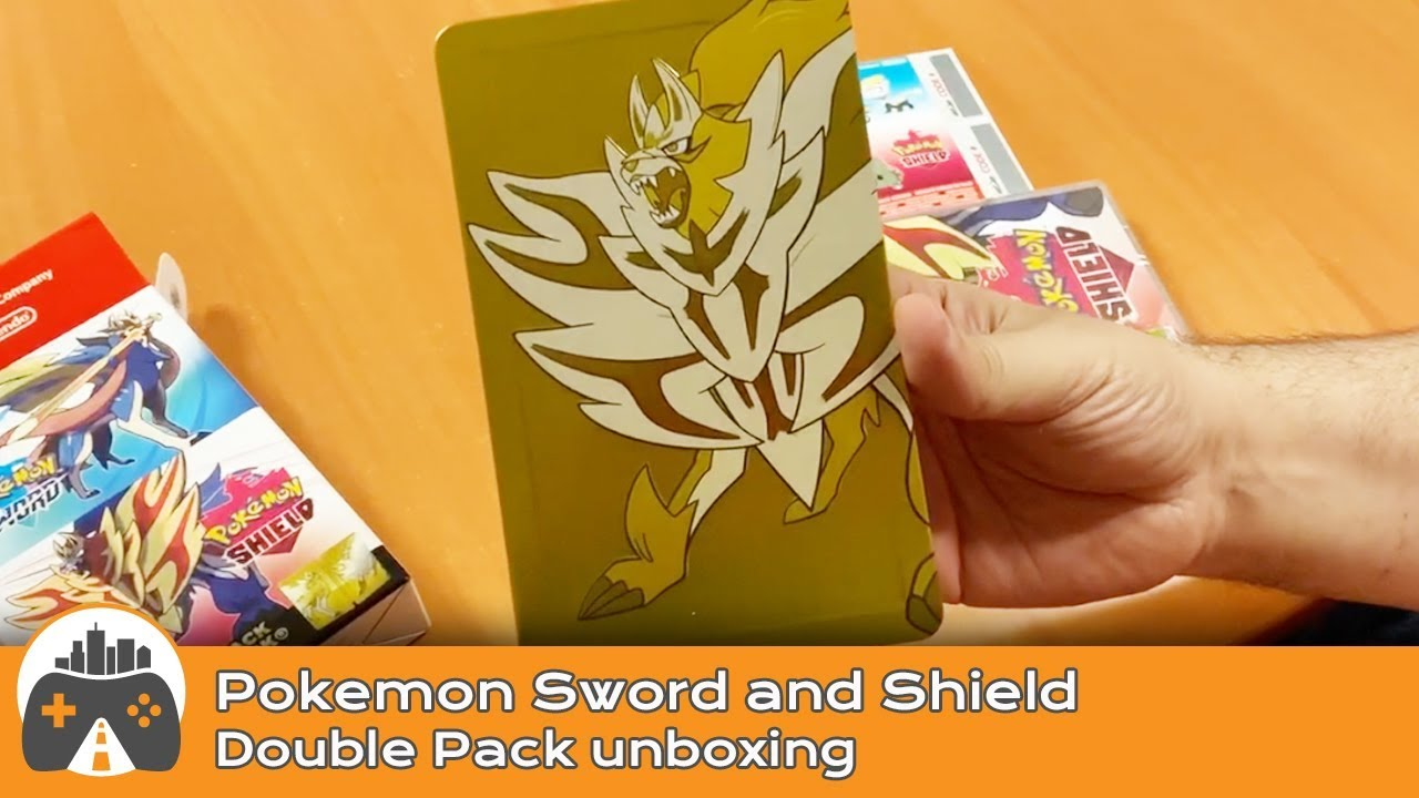 Δείτε unboxing του Pokemon Sword & Shield - Double Pack