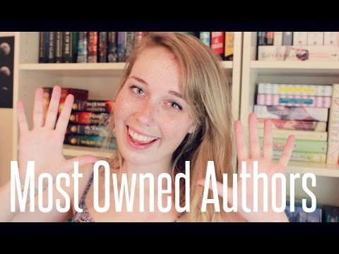 TOP 10 MOST OWNED AUTHORS!