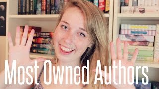 TOP 10 MOST OWNED AUTHORS! Thumbnail