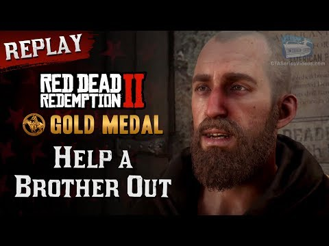 RDR2 PC - Mission #46 - Help A Brother Out [Replay & Gold Medal]
