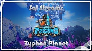 KILLING WOOFLESS + GETTING BANNED, HITTING 102 & GOD RAID?! Cosmic Prisons -Zyphon Planet- [ep.15]
