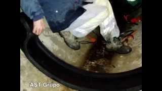 AST Grupo. REPARACIÓN Juntas COLECTOR DN 1.000-1.200 mm
