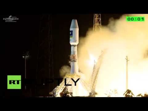 Blastoff! Arianespace launches two Galileo satellites atop Russian Soyuz rocket