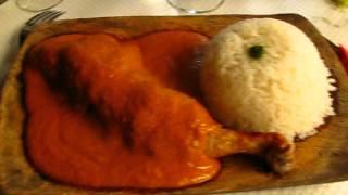 Mafé au poulet au restaurant sénégalais le Manguier à Paris