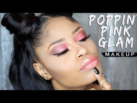 POPPIN' PINK SOFT GLAM   New Makeup Talk-Thru