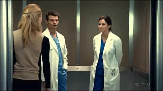 Saving Hope: Alex&Joel heart monitor [2x18] HD