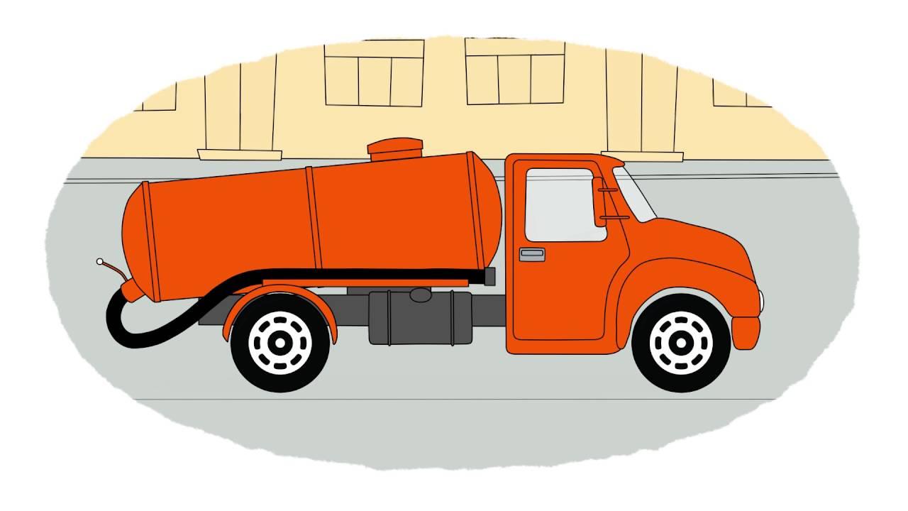 Coloriamo Insieme Colori Dei Grandi Camion Cartoni Animati Youtube