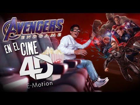 Como Fue Ver AVENGERS ENDGAME En El Cine Multiplex De Lavalle En 4D E-motion