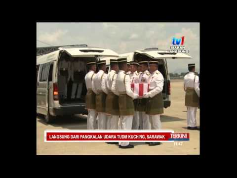 #MH 17  ISTIADAT PENGHORMATAN JENAZAH DI KUCHING  [19 Sept 2014]
