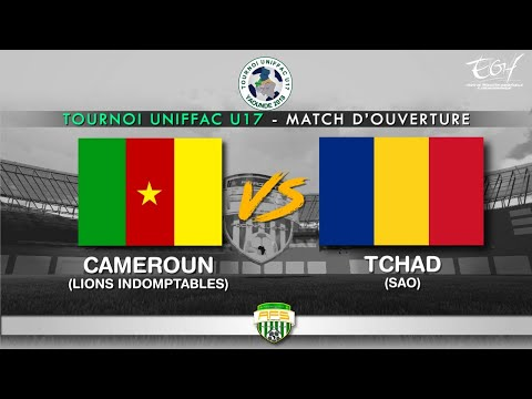UNIFFAC U17 CAMEROUN 1-1 TCHAD 05 04 2018