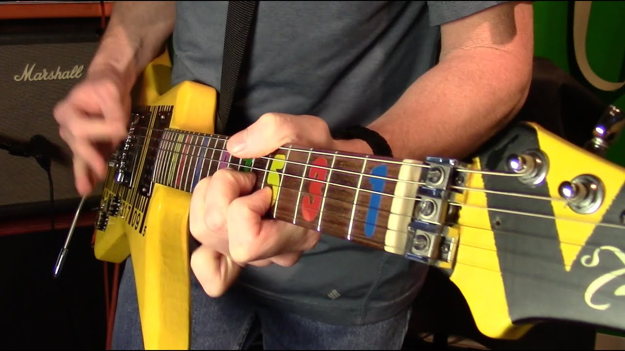 Guitar Tone Fret Stickers Jason Becker Guitar Style Youtube