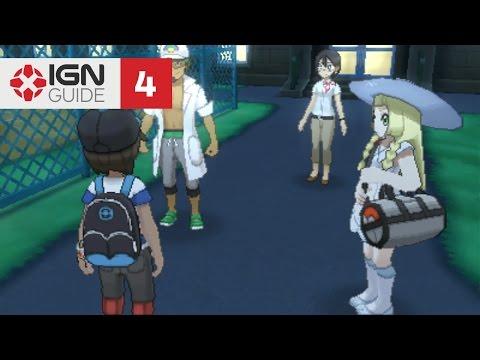 Pokemon: Sun and Moon Walkthrough - Trainer's School