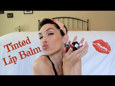 Tinted Lip Balm Review and swatches, drugstore