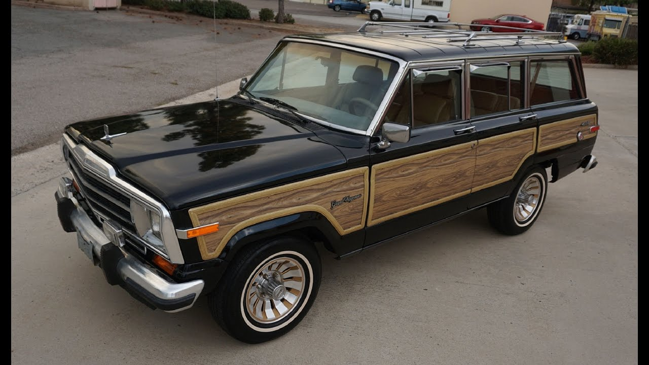 Jeep Grand Wagoneer For Sale >> Buy a Jeep Grand Wagoneer SJ Woodie For Sale Woody Classic V8 Review - YouTube