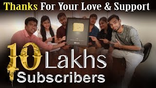 1 MILLION SUBSCRIBERS GOLD PLAY BUTTON AWARD - #YouTubeCreatorAwards