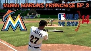 MLB 14: The Show - Miami Marlins (PS4) Franchise EP 3 by TheGreenMonstah