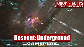 Descent: Underground gameplay PC HD [1080p/60fps]
