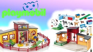 Playmobil ️ Hotel dla zwierząt  9275 • Toys Land