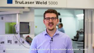 TRUMPF: Ask the Expert – How to start with laser welding