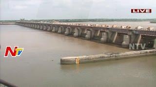 Tungabhadra Dam Brimming Due To Heavy Rains   Water Levels Increased   NTV