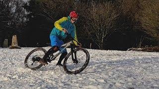 MTB in the Snow!