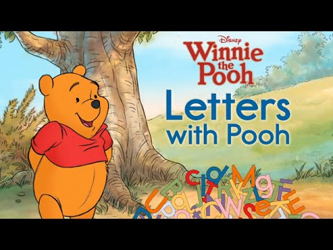 Winnie The Pooh: Letters with Pooh - Learn the Alphabet: ABC